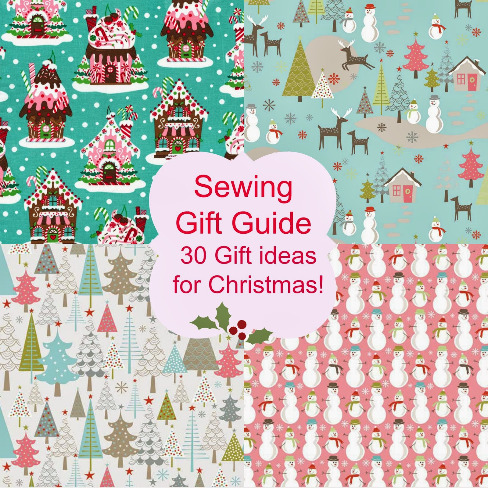 Sewn christmas gift ideas
