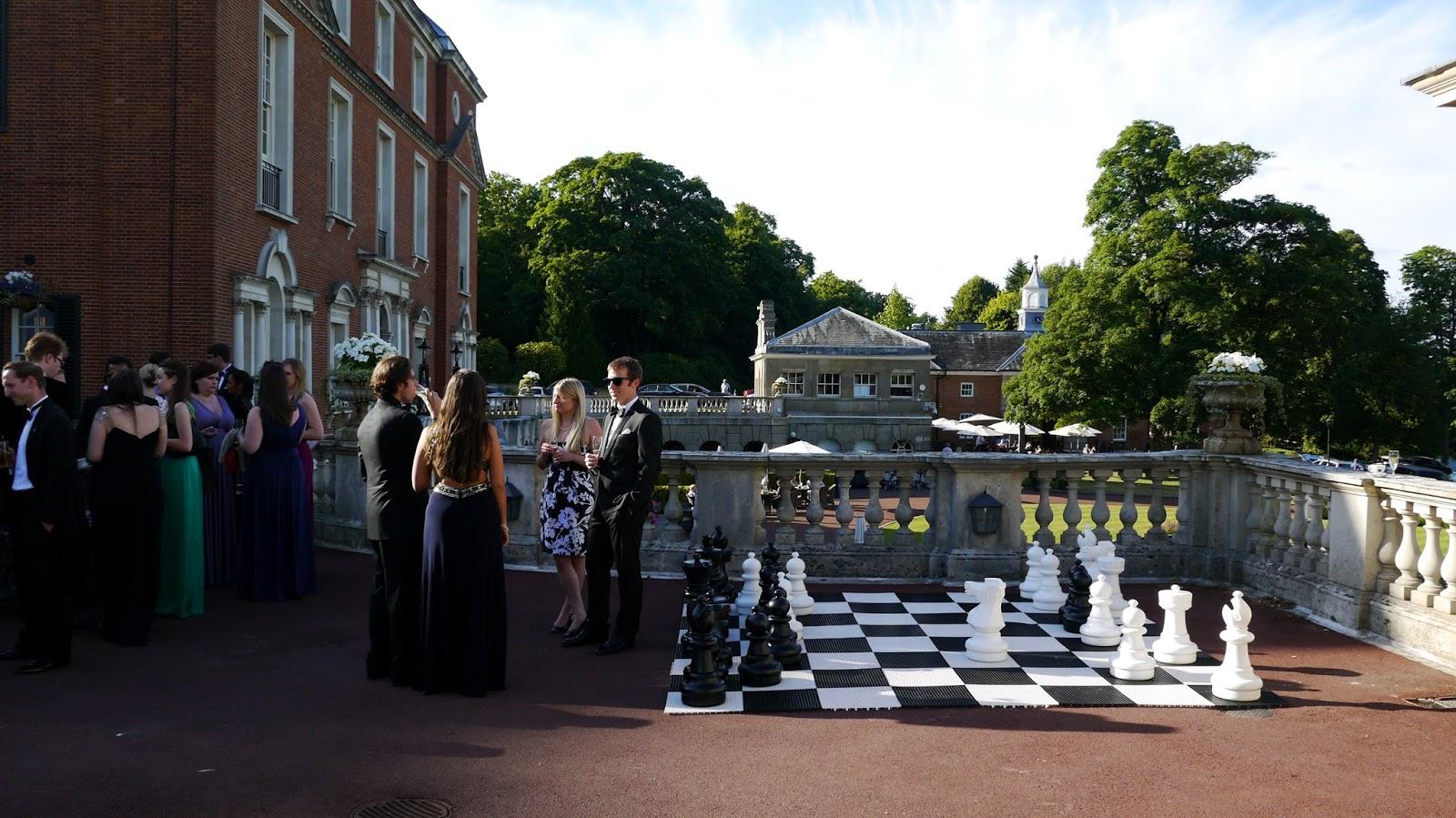 Royal Automobile Club Woodcote Park terrace