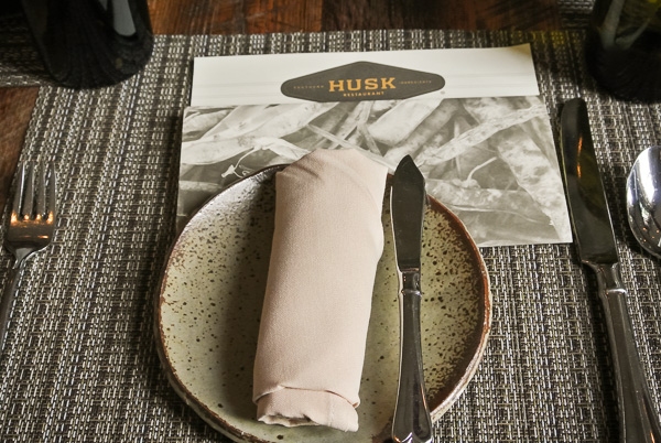 Husk restaurant in Nashville Tennessee