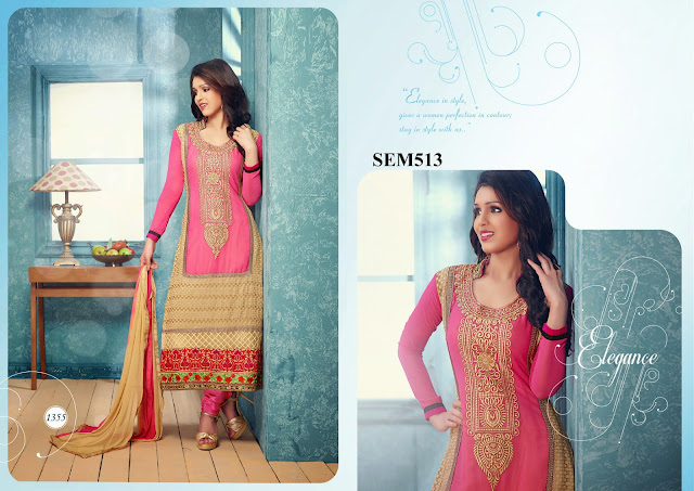 Purchase Designer Embroidery Neck Long Salwar Kameez