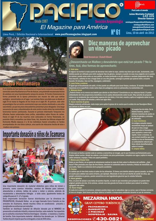 Revista Pacífico Nº 61 Arqueología