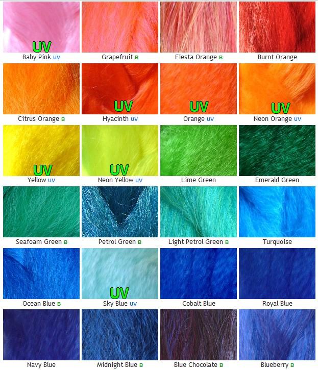 Dreads synth tiques cyberlox palette de couleur dreads synth tiques - Palette de couleur html ...
