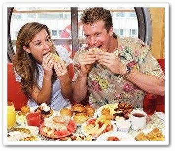 Хороший способ заставить женщину меньше есть