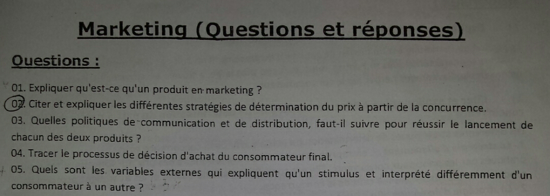 politique de prix en marketing