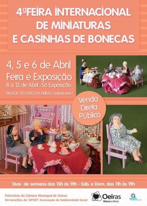 FERIA DE MINIATURAS EN PORTUGAL
