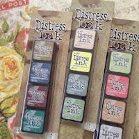 Tim Holtz Distress Ink pads