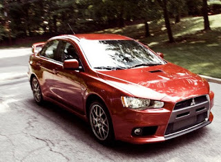 Mitsubishi Evo Specification
