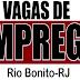 Veja oportunidades de emprego para Rio Bonito e Tanguá