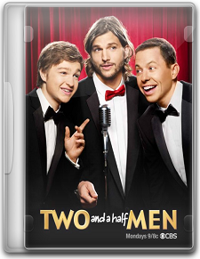 Capa Two and a Half Men   9ª Temporada   Legendado