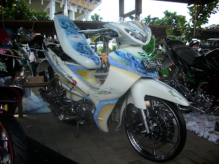 Modifikasi Motor Jupiter Z 2013