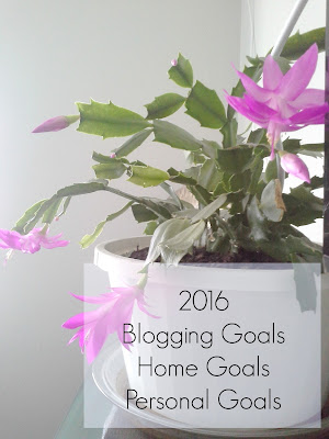 2016 Blog Home Personal Goals