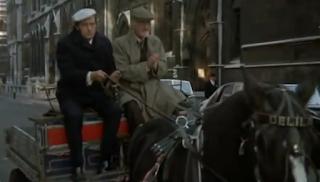 Steptoe & Son on a horse cart