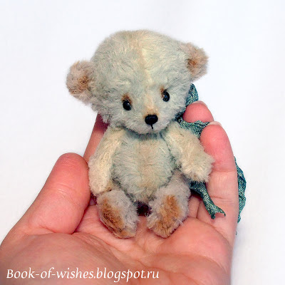 multicolor mini teddy bear