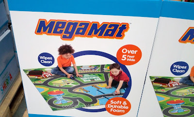 Mega Mat with included toy vehicles