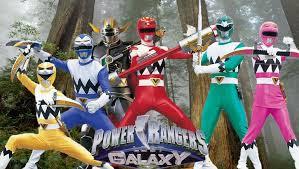 Phim Power Ranger Lost Galaxy