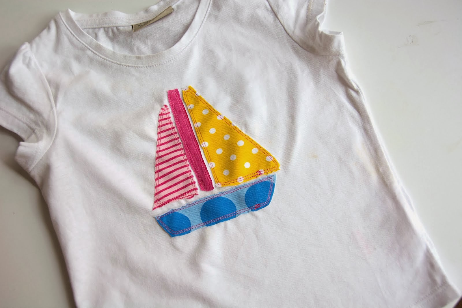 Tutorial: Sailboat Applique