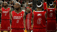 NBA 2K14 Heat New Alt Jersey
