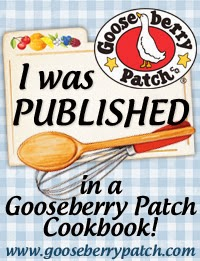 I was published by Gooseberry Patch Cookbooks!