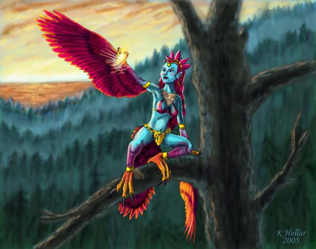 Harpy - WoW por NetRaptor