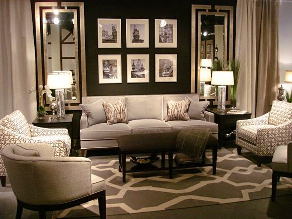 Wall Decor Around Mirror : Designing home using mirrors to solve decorating problems