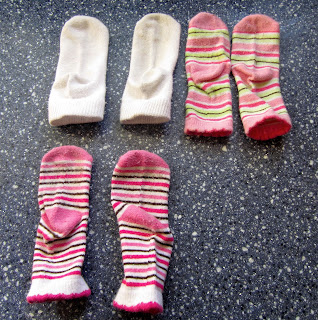 Make Grippy or No-Skid Socks: BrownThumbMama.com