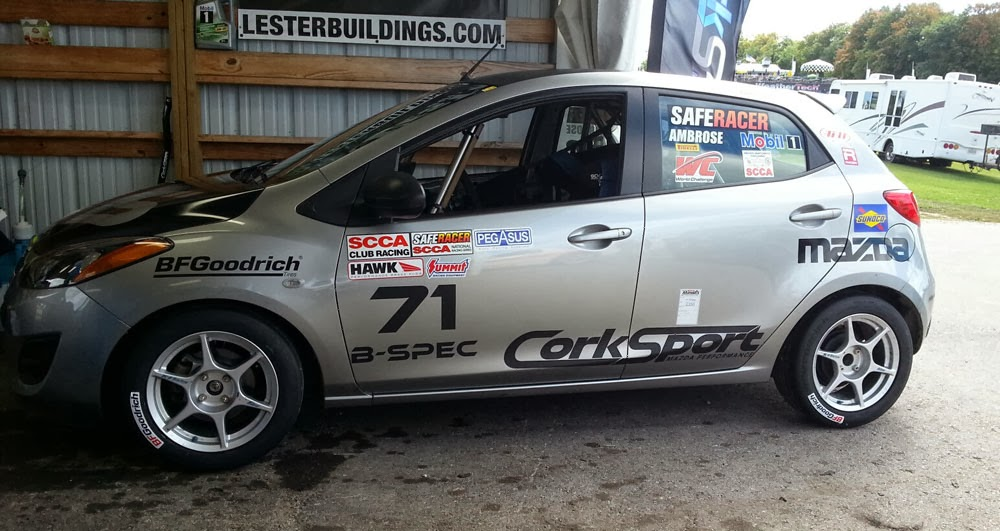 CorkSport Mazda2 at the SCCA Runoffs | Subcompact Culture - The small car blog
