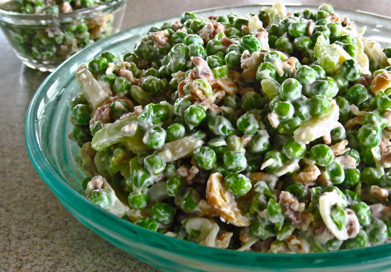 OnTheMove-In the Galley: Broadway Pea Salad