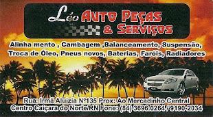 LÉO AUTO PEÇAS EM CAIÇARA DO NORTE/RN (84) 9190-2034