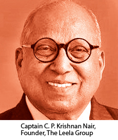 Captain C. P. Krishnan Nair, Founder, The Leela Group,