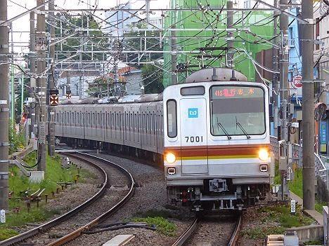 東急東横線 急行 志木行き1 7000系