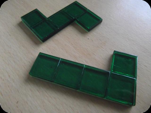 Tetris style tiles