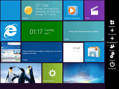 Windows 8 UX Pack (8UXP) v6.0 Full ( 06-Sep-2012 )