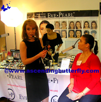 Eve Pearl at Beauty Press Spotlight Day May 2013 at Midtown Loft in New York City