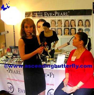 Eve Pearl at Beauty Press Spotlight Day May 2013 at Midtown Loft in New York City