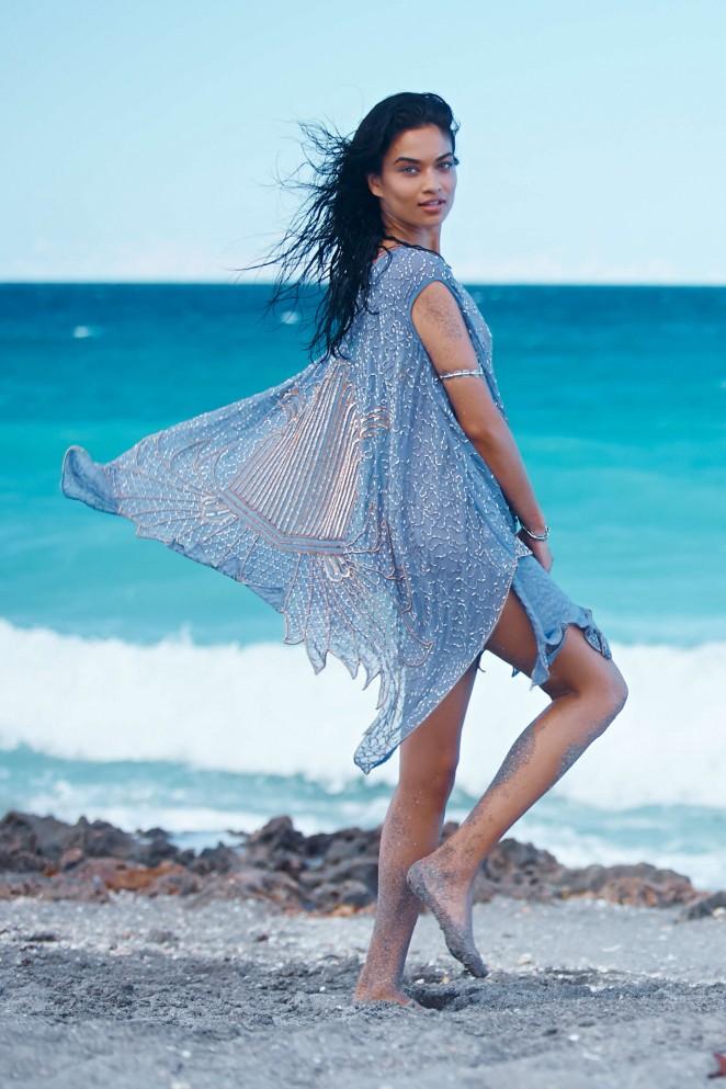 Shanina Shaik stuns for the Free People 'Gold Coast' Lookbook 2015