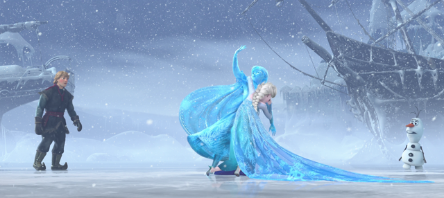 look at disney frozen week top 6 elsa moments