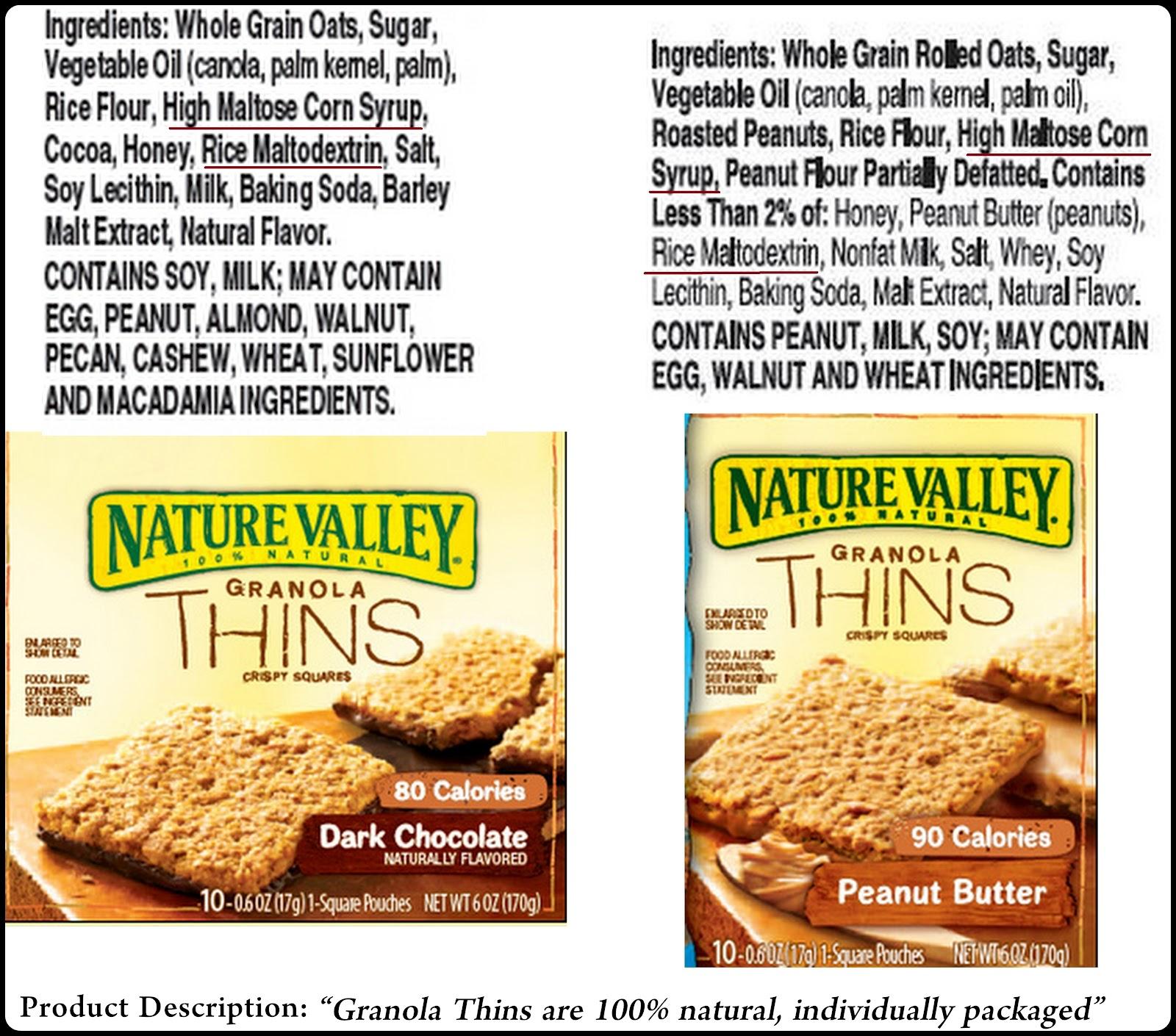 Nature Made Granola Bars