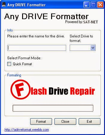 Any Drive Formatter Tool