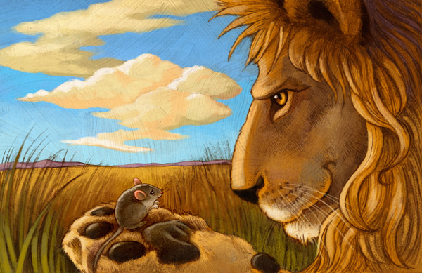 Fabel – Kisah Singa dan Seekor Tikus | Muhammad Hatta Maulana