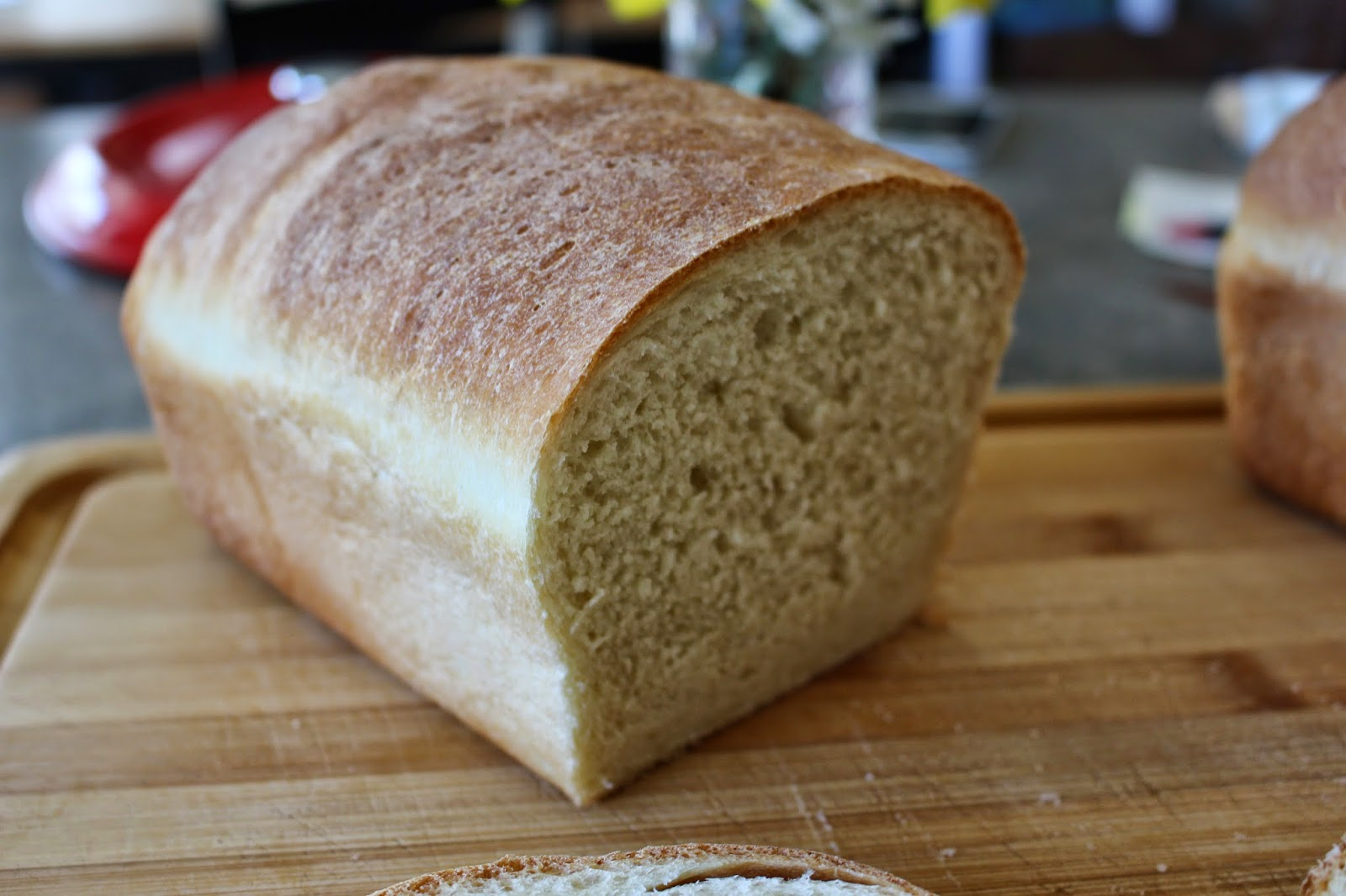 Snappily Ever After: Basic White Sandwich Bread