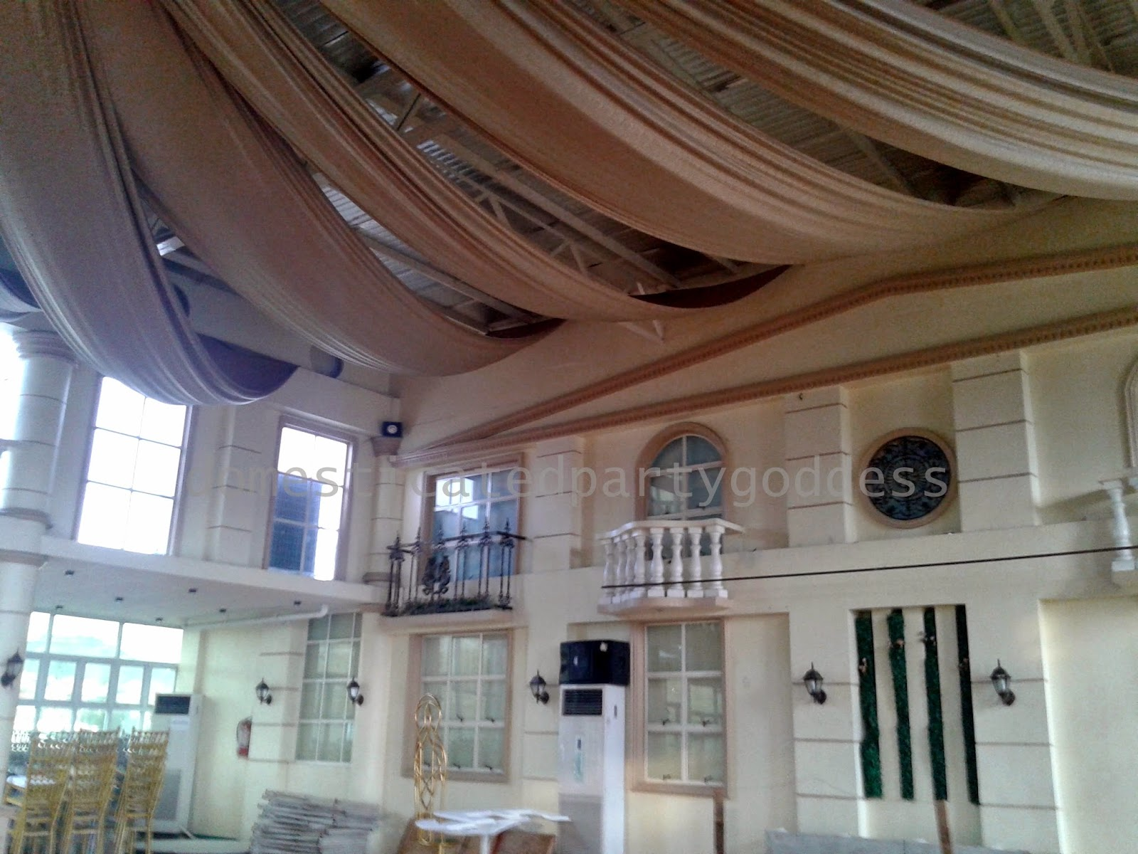 Domesticated party goddess party venue castillo royale for 15th floor octagon building ortigas
