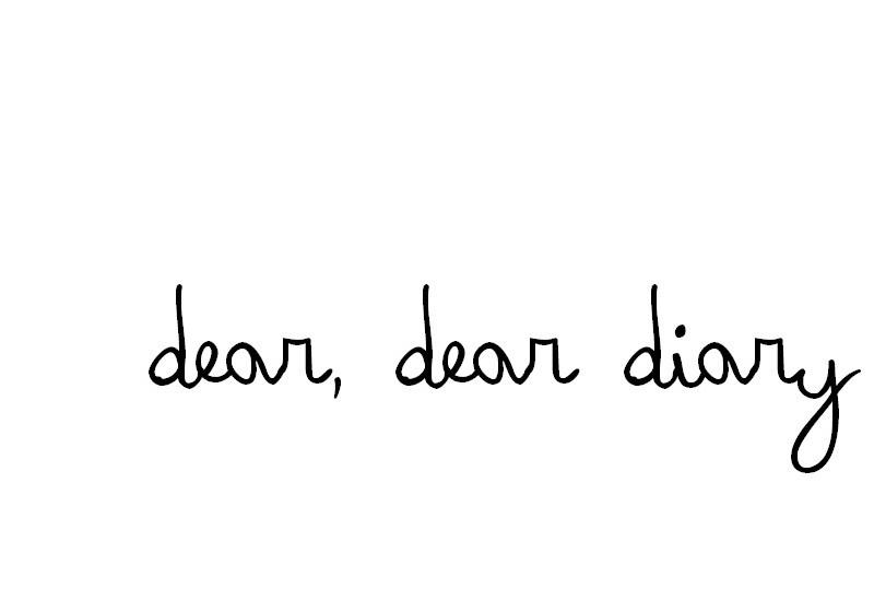 dear dear diary