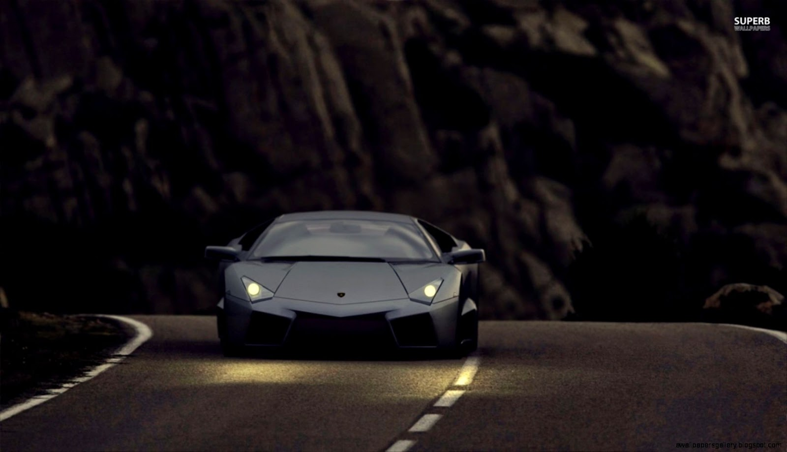 lamborghini 2016 wallpaper night-#24