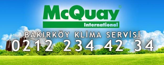 McQuay Bakırköy Klima Bakımı