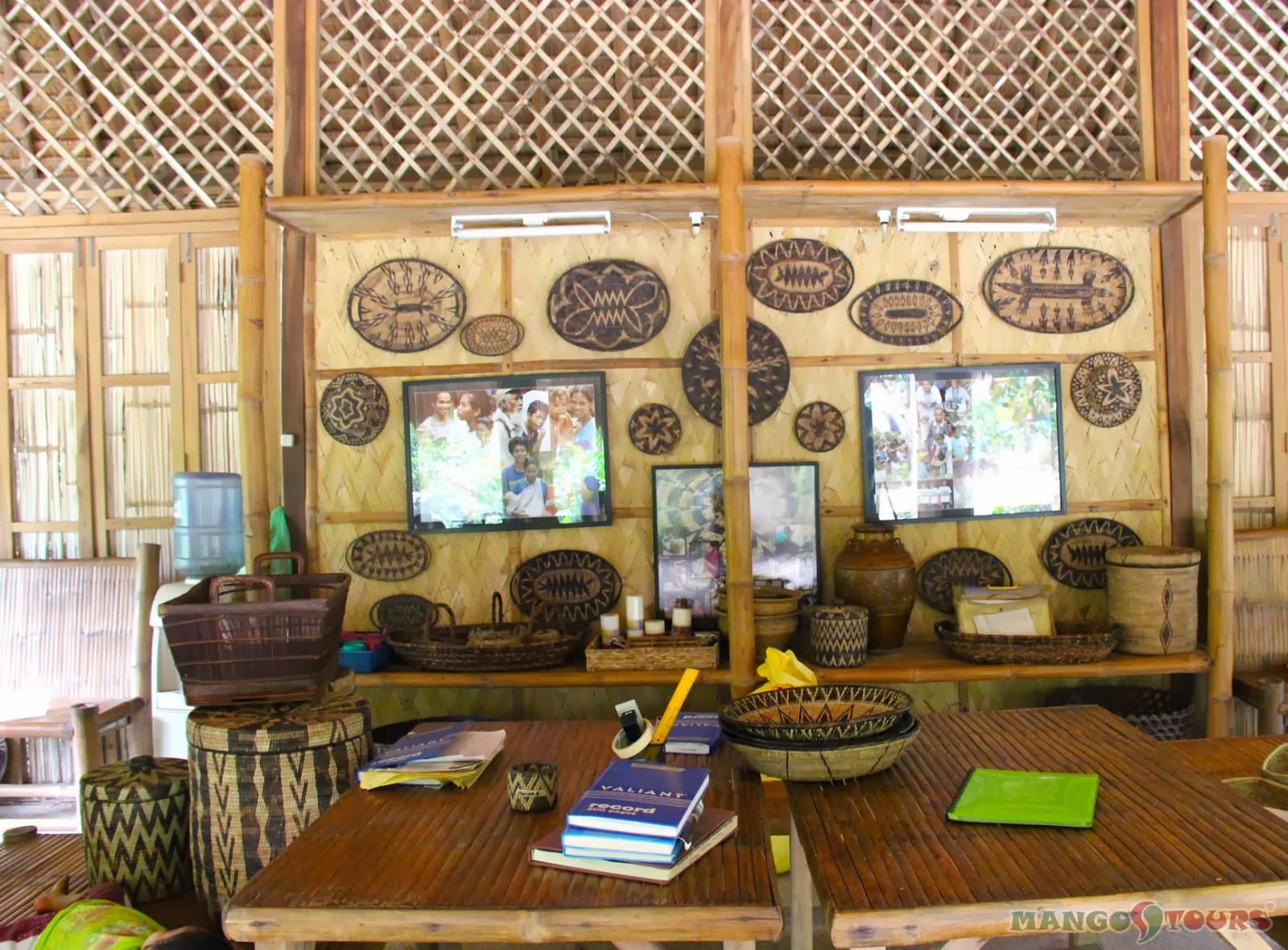 Puerto Galera Buri Resort & Spa Mango Tours Philippines Mangyan Village Nito weaving souvenirs