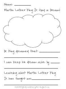 First Grade and Fancy Free: Martin Luther King Jr.