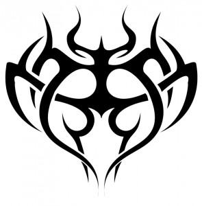 Tribal Heart Tattoos