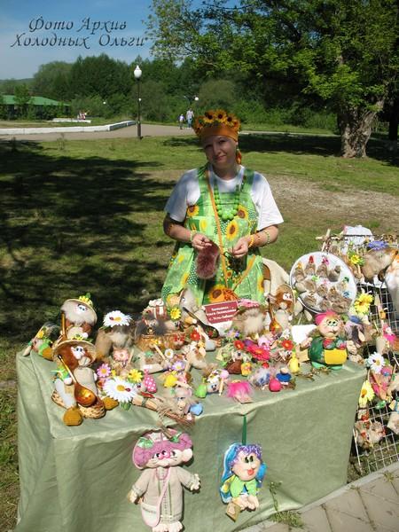 Кукольный мастер Ольга Холодных