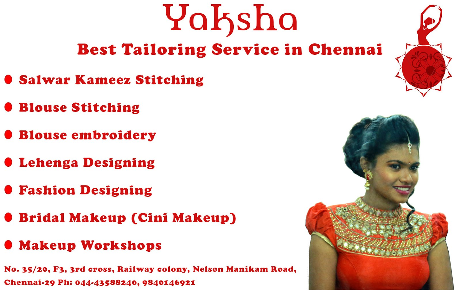 Tailoring Service in chennai call 9840146921