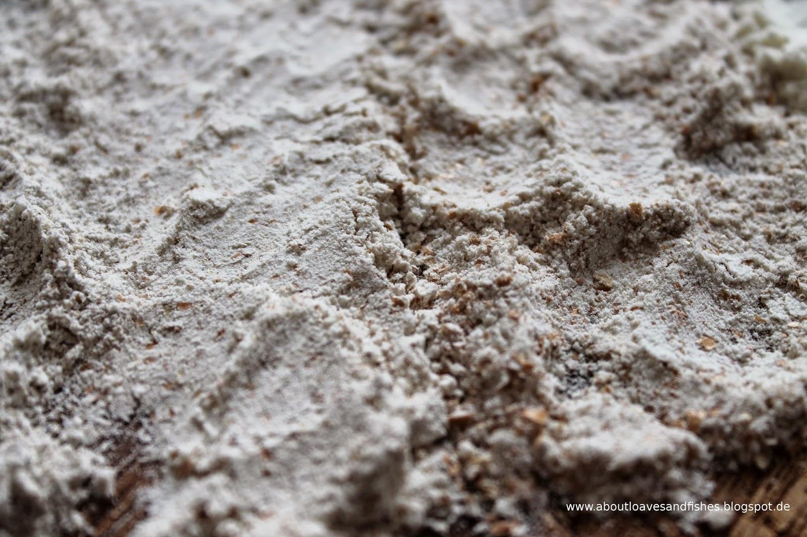 Vergleich Dinkelvollkornmehl und Weizenvollkornmehl